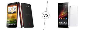 HTC Butterfly vs Sony Xperia Z