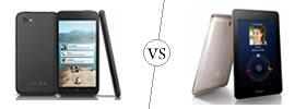 HTC First vs Asus FonePad