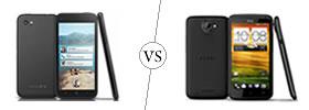 HTC First vs HTC One X