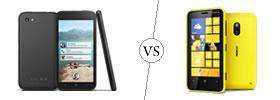 HTC First vs Nokia Lumia 620