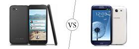HTC First vs Samsung Galaxy S3