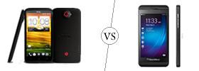 HTC One X+ vs BlackBerry Z10