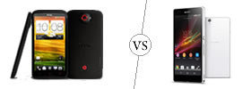 HTC One X+ vs Sony Xperia Z