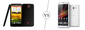 HTC One X+ vs Sony Xperia ZL