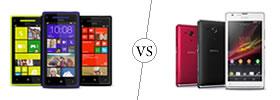 HTC Windows 8X vs Sony Xperia SP