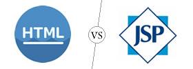 HTML vs JSP