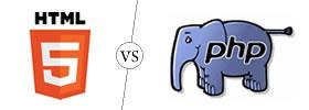HTML5 vs PHP