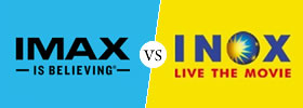 Difference between IMAX and INOX