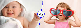 Difference between Infant and Child