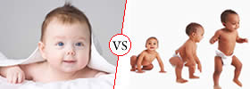 Difference between Infant and Toddler