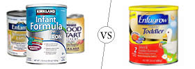 Difference between Infant Formula and Toddler Formula