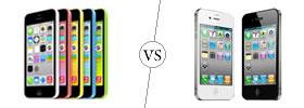 iPhone 5C vs iPhone 4S
