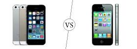 iPhone 5S vs iPhone 4