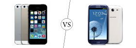 iPhone 5S vs Samsung Galaxy S3