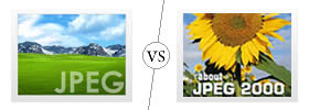 Difference between JPEG and JPEG2000