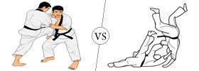 Difference between Judo and Jiu Jitsu