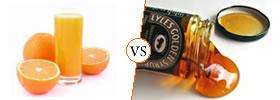 Juice vs Syrup