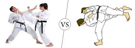 Difference between Karate and Judo