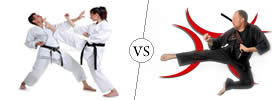 Difference between Karate and Martial Arts