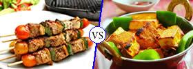 Kebab vs Tikka