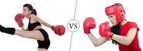 Difference between Kickboxing and Boxing