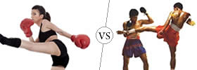 Difference between Kickboxing and Thai Boxing