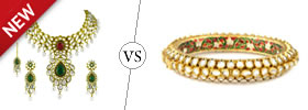 Kundan vs Polki Jewelry