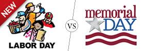 Labor Day vs Memorial Day