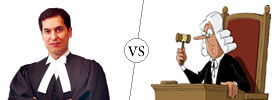 Lawyer vs Judge