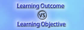 Learning Outcome vs Learning Objective