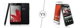 LG Optimus G vs LG Optimus F5