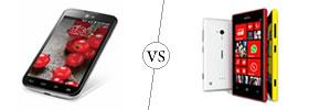 LG Optimus L7 II Dual vs Nokia Lumia 720