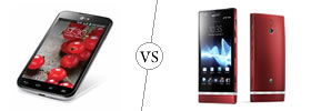 LG Optimus L7 II Dual vs Sony Xperia P