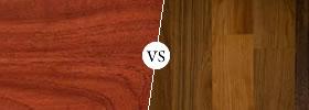 Mahogany vs Teak