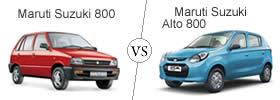 Compare Maruti Suzuki 800 and Maruti Suzuki Alto 800