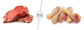 Difference between Meat and Chicken