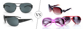 Difference between Men's and Women's Sunglasses