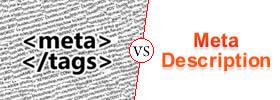 Meta Tags vs Meta Description