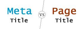 Meta Title vs Page Title