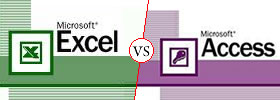 Difference between Microsoft Excel and Access
