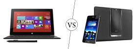 Microsoft Surface Pro vs Asus Padfone Infinity