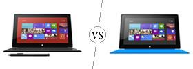 Microsoft Surface Pro vs Microsoft Surface RT