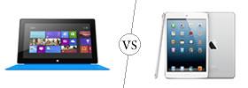 Microsoft Surface RT vs iPad