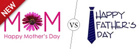 Mother's Day vs Father's Day
