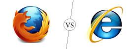 Mozilla Firefox vs Internet Explorer