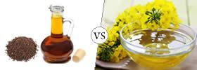 Mustard Oil vs Canola Oil