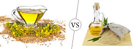Mustard Oil vs Sesame Oil