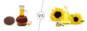 Mustard Oil vs Sunflower Oil