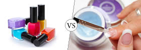Difference between Nail Polish and Gel