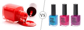 Difference between Nail Polish and Lacquer